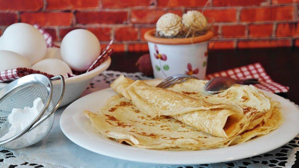 pancakes, pancake, crepe
