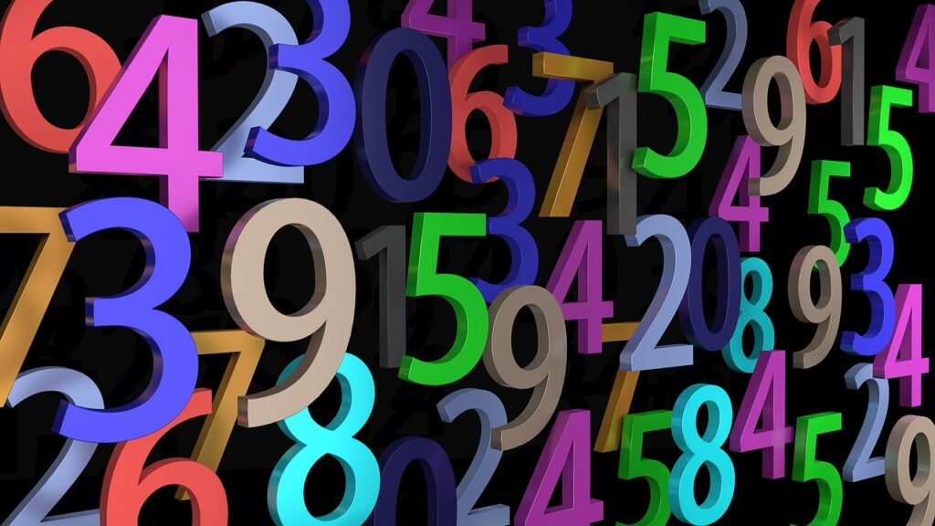 pay, numbers, digits